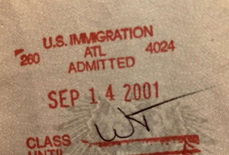 Picture from my passport aobut September 14th 2011